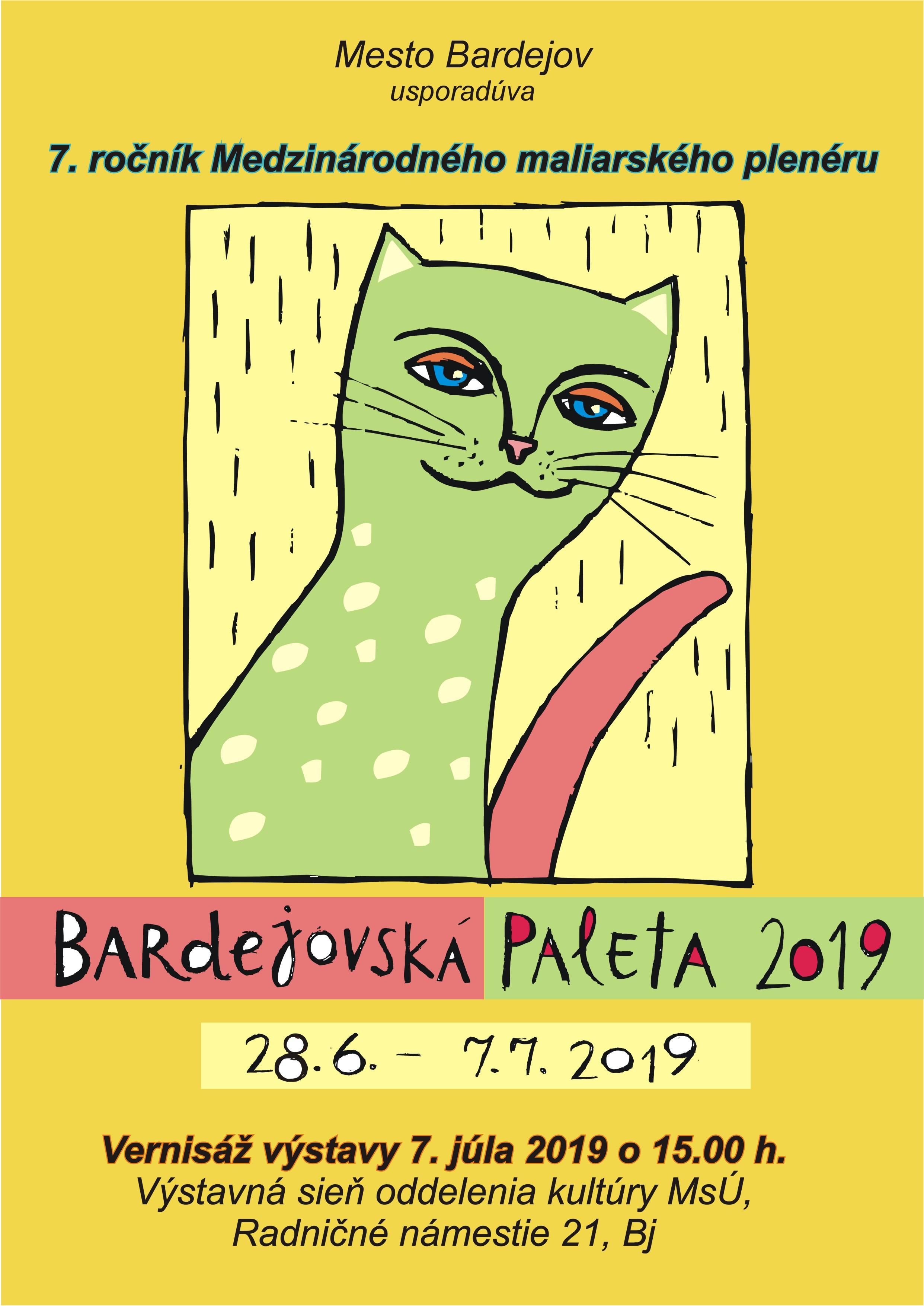 Bardejovská paleta 2019