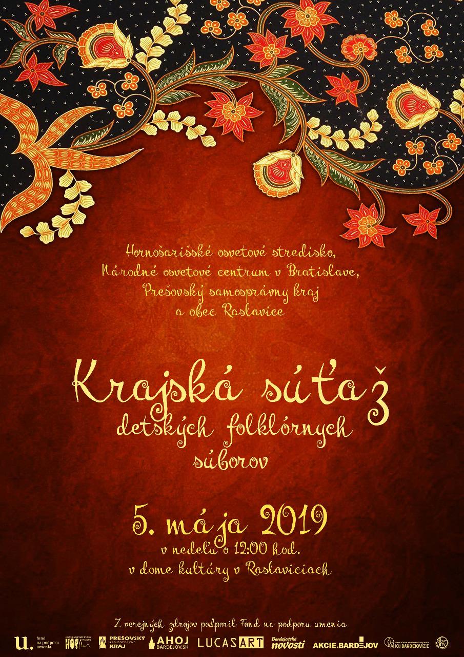 Krajská súťaž detských folklórnych súborov