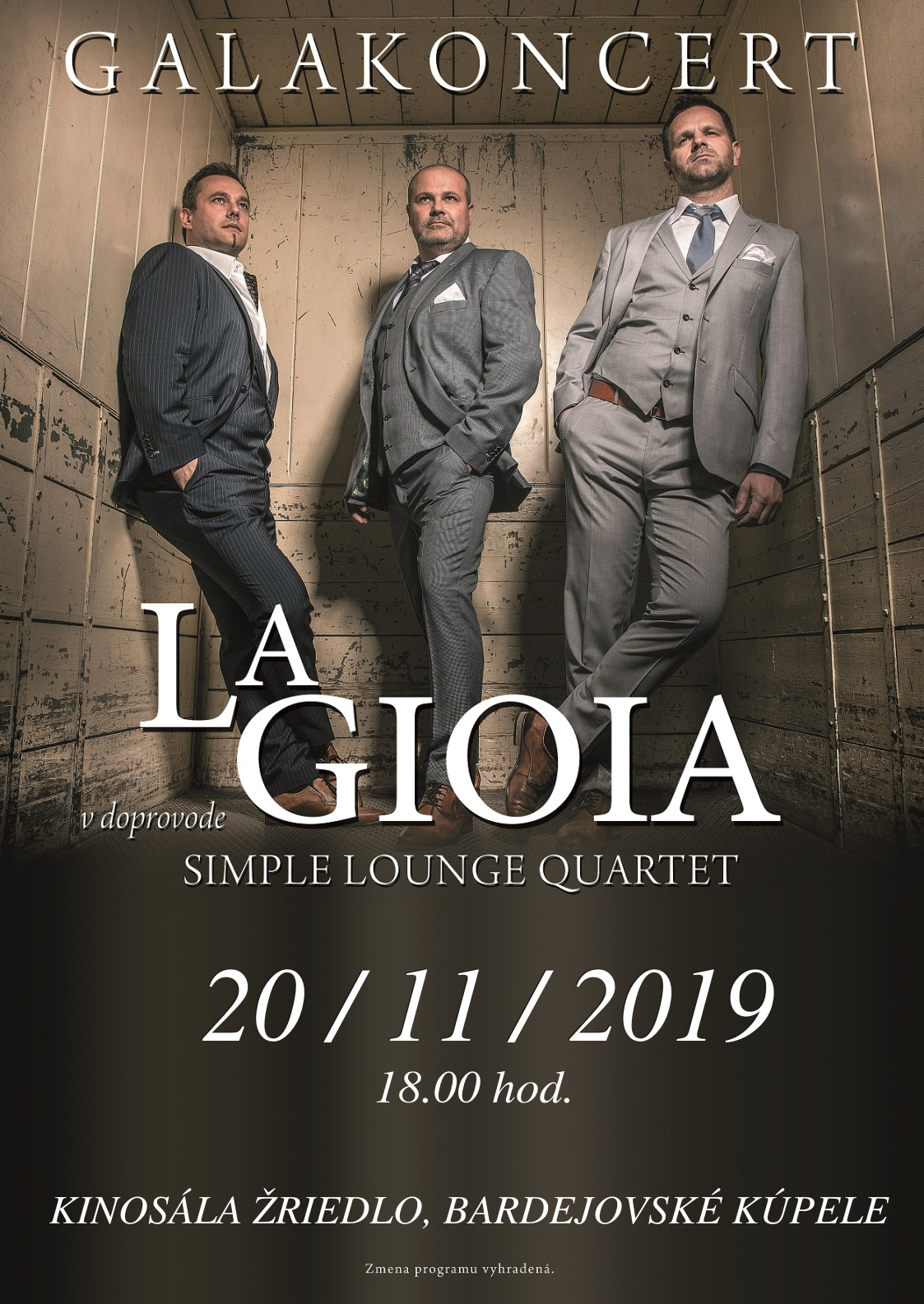 La Gioia and Simple Lounge Quartet