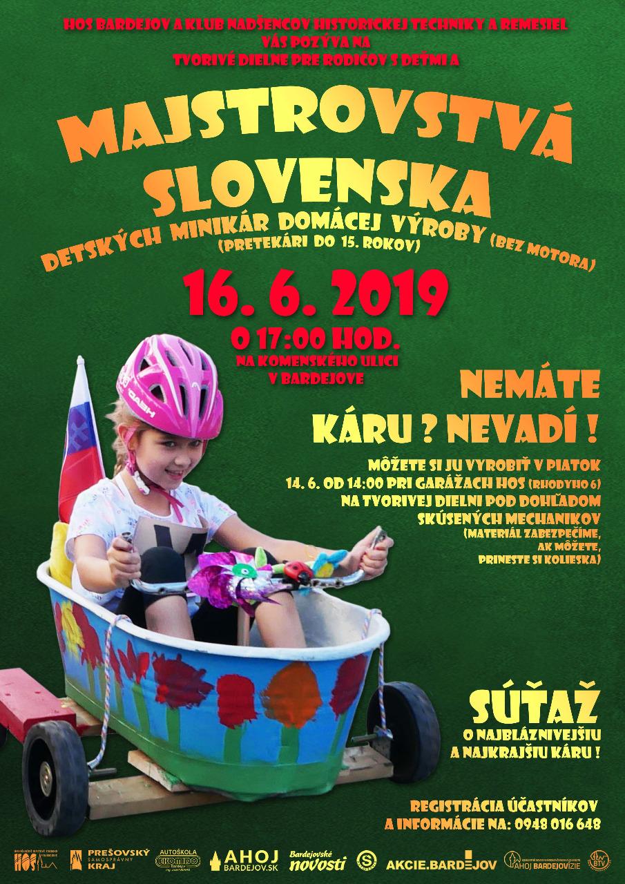 Majstrovstvá Slovenska minikáry