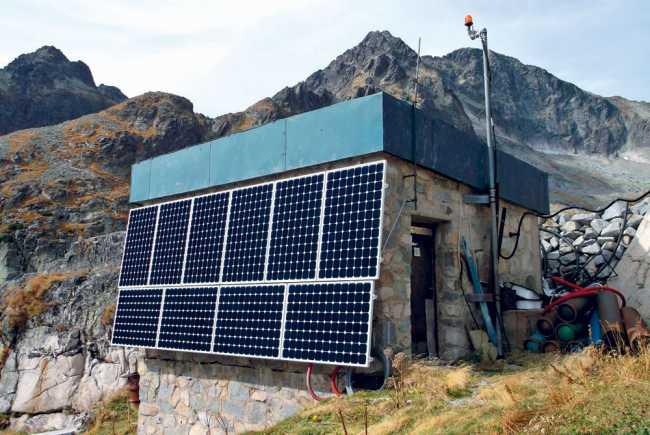 Európske solárne dni na Slovensku  Fotovoltický systém na Téryho chate f37428f046b