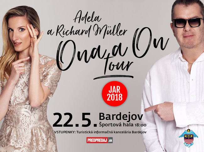 Adela a Richard Müller: Ona a On Tour 2018