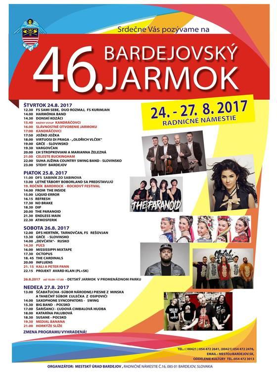 Bardejovský jarmok 2017, #mymodal 238
